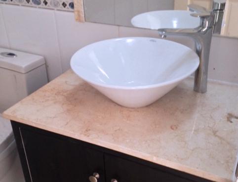 Cubiertas de granito y marmol instalacion de cubiertas en for Instalacion de marmol y granito