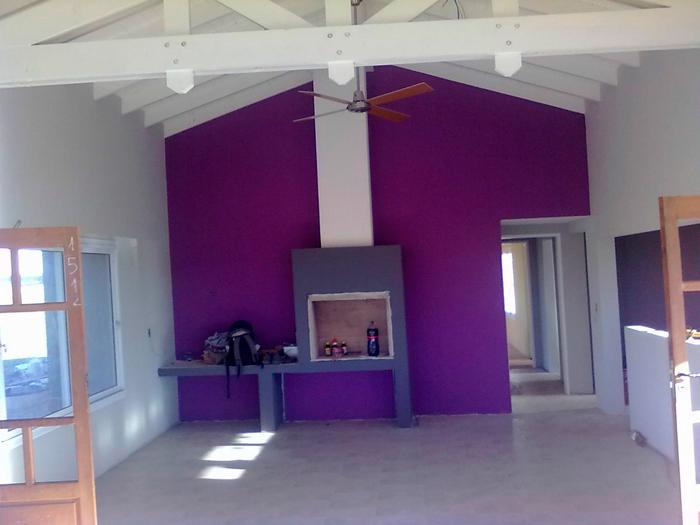 Servicios de pintura pintores de casa en santiago for Color de pintura interior de casa